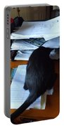 Cat Inbox Portable Battery Charger