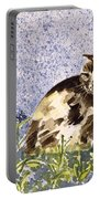 Cat Mint Wc On Paper Portable Battery Charger