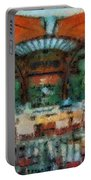 Catal Outdoor Cafe Downtown Disneyland Photo Art 03 Portable Battery Charger