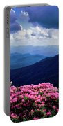 Catawba Rhododendron In Bloom, Yellow Portable Battery Charger