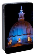 Cathedral And Fireworks Portable Battery Charger