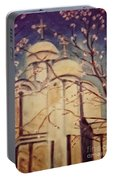 Cathedral At Springtime Portable Battery Charger