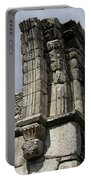 Cathedral Broken Arch At Glendalough Portable Battery Charger