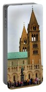 Cathedral In Pecs Portable Battery Charger