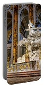 Cathedral Of Chartres Altar Portable Battery Charger