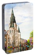 Cathedral Plaza - Jackson Square, French Quarter Portable Battery Charger