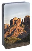 Cathedral Rock At Sunset Portable Battery Charger