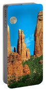 Cathedral Rock Moon Portable Battery Charger