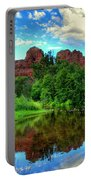 Cathedral Rocks At Red Rock Crossing Portable Battery Charger