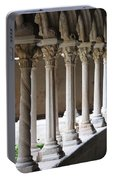 Cathedral St Sauveur - Croos-coat Portable Battery Charger
