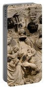 Cathedral Wall Nativity Sculpture Portable Battery Charger