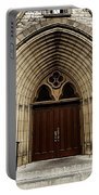 Catherdral Door's Portable Battery Charger