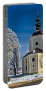 Catholic Church In Town Of Krizevci Portable Battery Charger