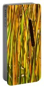 Cattails Aflame Portable Battery Charger