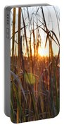 Cattails And Reeds - West Virginia Portable Battery Charger