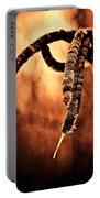 Cattails On Fire Portable Battery Charger
