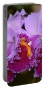 Cattleya Lavender Valentine Portable Battery Charger