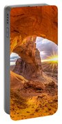 Cave Arch Portable Battery Charger by Dustin  LeFevre