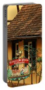 Caveau St Pierre Sign In Colmar France Portable Battery Charger