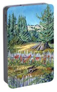 Cazadero Farm And Flowers Portable Battery Charger
