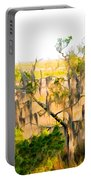 Cedar In The Marsh Portable Battery Charger