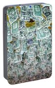 Ceiling Of Dollar Bills  Portable Battery Charger