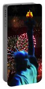 Celebrate America Portable Battery Charger by Bill Cannon