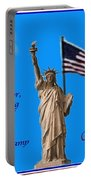 Celebrate Independence Portable Battery Charger