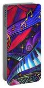 Celebration Portable Battery Charger by Leon Zernitsky