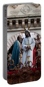 Celebrations On Palm Sunday In Cordoba Portable Battery Charger