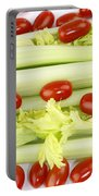 Celery And Tomatoes Portable Battery Charger
