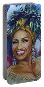 Celia Cruz Portable Battery Charger