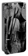 Cellos 6 Black And White Portable Battery Charger