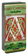 Celtic Christmas A Initial Portable Battery Charger