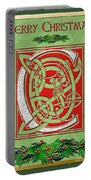 Celtic Christmas C Initial Portable Battery Charger