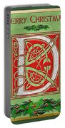 Celtic Christmas D Initial Portable Battery Charger