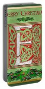 Celtic Christmas E Initial Portable Battery Charger