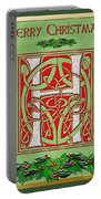 Celtic Christmas H Initial Portable Battery Charger