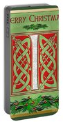 Celtic Christmas I Initial Portable Battery Charger