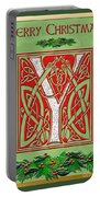 Celtic Christmas Initial Y Portable Battery Charger