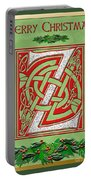 Celtic Christmas Initial Z Portable Battery Charger