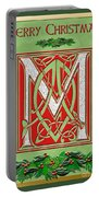 Celtic Christmas M Initial Portable Battery Charger
