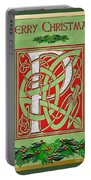 Celtic Christmas P Initial Portable Battery Charger