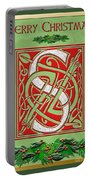 Celtic Christmas S Initial Portable Battery Charger