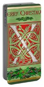 Celtic Christmas X Initial Portable Battery Charger