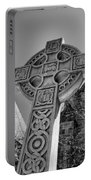 Celtic Cross At Trinity Portable Battery Charger
