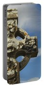 Celtic Cross, Cong Abbey, Ireland Portable Battery Charger
