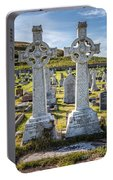 Celtic Crosses Portable Battery Charger