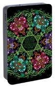 Celtic Fairy Mandala Portable Battery Charger