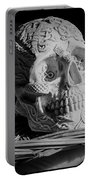 Celtic Skulls Symbolic Pathway To The Other World Portable Battery Charger